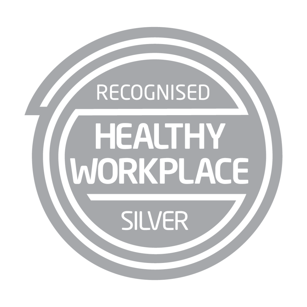 Silver Healthy Workplace stamp